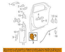 Chevrolet GM OEM 06-11 HHR Front Door-Door Lock Kit 20791793