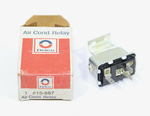 1973 Chrysler Delco Air Conditioning Relay ~ 15-887 ~ 3764131