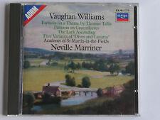 4441 Vaughan Williams - Tallis Fantasia Greensleeves Argo W Germany Marriner CD