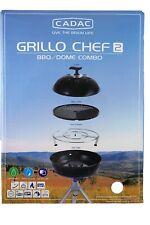 CADAC Grillo Chef 2 BBQ Dome Combo Gasgrill 50 mbar 3KW B-Ware Campinggrill