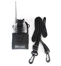 MSC-20D Multifunzionale del radio Caso per H777 Baofeng 888S Kenwood Motorola