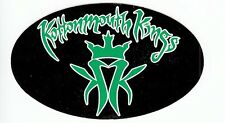 Kottonmouth Kings High Society RARE promo sticker (green and white) '00