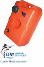 Marine Fuel Tank 22L with Vented Cap & Gauge - Vertical Portable