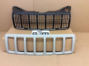 2005-2007 Jeep Grand Cherokee Front Radiator Grille PTM new OEM 5JF94ZZZAE