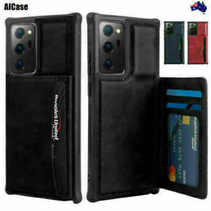 AICase For Samsung Galaxy Note20/Note20 Ultra Leather Wallet Slim Case Cover