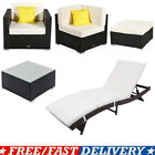 DIY Rattan Wicker Sofa Chair Table Set Sectional Couch Cushioned Furniture Patio