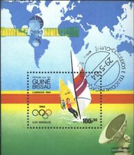 Guinea-Bissau block260 (complete issue) used 1984 olympic. Summ