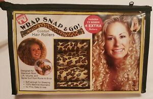 New Wrap Snap And Go Comfort Soft Day/ Night Hair roller 12