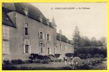 cpa Bourgogne 89 - VAULT de LUGNY (Yonne) Le CHÂTEAU Castle of France Schloss