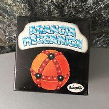 1985# ULTRA RARE RUBIK Puzzle Rompicapo Arancia Meccanica Simpaty#NIB