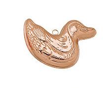 """Ruffoni Copper Duck Shaped Mold- 6.25"""""""