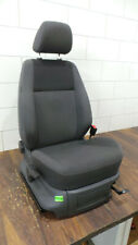Seat VW Caddy 2K Front Right Black Grey Heated Seats Original