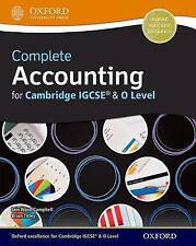 Contabilidad completa para Cambridge Igcse & o nivel: Cambridge o nivel & Igcse..