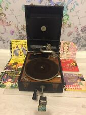 Antique An Antonia Table Top Gramophone