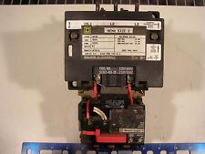 Square D NEMA 2 Motor Starter 3 Ph 120vac Coil 60 Day Warranty + Free Shipping