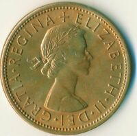 1966 FLORIN TWO SHILLINGS QUEEN ELIZABETH II. UNC WITH TONING  #WT11138