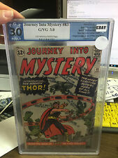 journey into mystery #83  pgx 3.0 thor 1st appearance not cgc