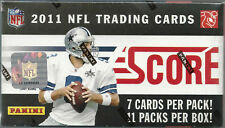 2011 Panini NFL Score Football Trading Cards Blaster Box
