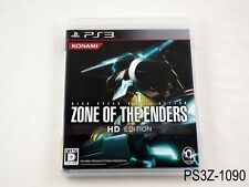 Zone of the Enders HD Edition ZOE Playstation 3 Japanese Import PS3 JP US Seller