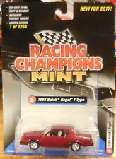 2017 Release 1B Racing Champions 1986 Buick Regal T Type Maroon 1/1256
