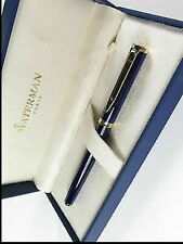Waterman Preface Royal Blue & Gold Rollerball Pen New In Box *