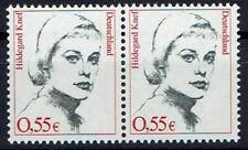 2296 **, BRD 2002, Hildegard Knef, waagrechtes par