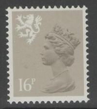 SCOTLAND SGS42 1983 16p DRAB MNH