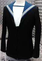 Genuine British Royal Navy Class 2 / II Sailors Middy Jumper RN - All Sizes