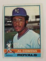 1976 Al Cowens # 648 Kansas City Royals KC Topps Baseball Card