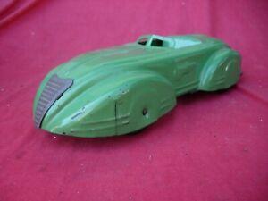 Wyandotte  Art Deco   pressed steel  Car Sedan Auburn Cord wind up VERY NICE