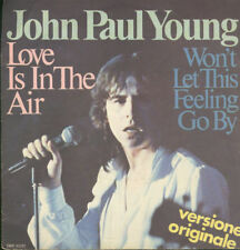 1877 - 0605	JOHN PAUL YOUNG ‎– LOVE IS IN THE AIR 7""