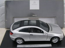 MERCEDES C SPORTCOUPE  CL203 1/18 SILVER IN DEALERBOX B66962123 COLLECTORS ITEM