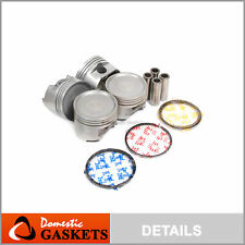 Pistons and Rings fit Dodge Mitsubishi Eagle 2.4L SOHC 4G64