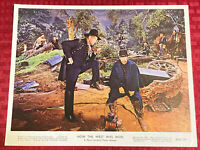 How The West Was Won Lobby Card 8x10 John Wayne 1970 Re-issue For UK Rerelease