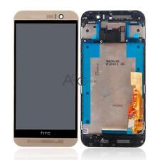 HTC One M9 LCD Touch Screen with Digitizer Assembly & Frame Gold Replacement