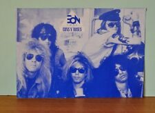 Vintage Guns N Roses EON FM92 chart list Oct 27 1988