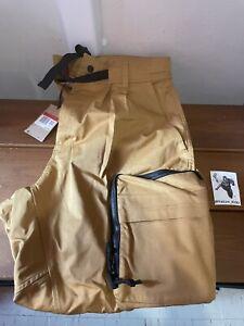 Nike ACG Smith Summit Cargo Pants Wheat Black CD7646 790 Men's LARGE NWT