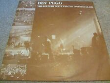 """Bev Pegg - The Foundry Ditty And The Industrial Air 12"""" LP ORIG Private 500 ONLY"""