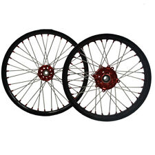 21*1.6/19*1.85 Inch Motorcycle Wheels For Honda CRF250&450 Witn Hub And Rims