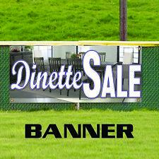 Dinette Sale Furniture Home Unique Novelty Indoor Outdoor Vinyl Banner Sign