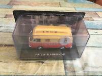 Voiture Miniature Camion Fourgon Publicitaire Fiat 238 Plasmon 1967 au 1/43