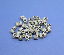 Lego 50 x tecnología topes neuhell gris | Grey Technic bush for cross axle 6590