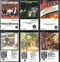 Vintage Collectable Cassette Tapes Classic Rock  Lot # 4