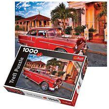 TREFL 1000 pezzi adulto grande Chevrolet Bel Aria AUTO OLDTIMER pavimento Puzzle