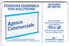VARIETE TELECARTE LOGO .. 50U Te39 SC6 N° RECTIFIE  PE.25234/GE. RATES  C.210€