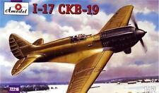 1/72 Aircraft Polikarpov I-17 SKV-19  Amodel 72216 Model kit
