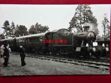 PHOTO  GWR CLASS 45XX 2-6-2T LOCO NO 4571  ON A SLS SPECIAL