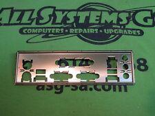 INTEL D845GBV ATX Motherboard I/O Shield Backplate - 1052