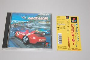 Ridge Racer Japan Sony Playstation 1 PS1 game