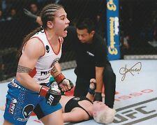 JESSICA ANDRADE SIGNED AUTO'D 8X10 PHOTO MMA UFC FIGHT NIGHT 171 C